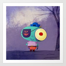 Cute Pirate! Art Print