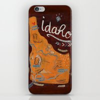 Idaho iPhone & iPod Skin