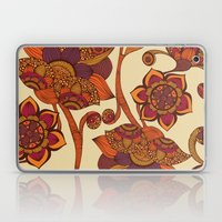 Boho Flowers Laptop & iPad Skin