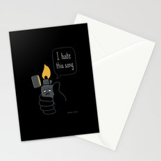 Mad Music Lighter Stationery Cards