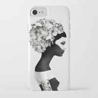 home iPhone & iPod Cases featuring Marianna by Ruben Ireland