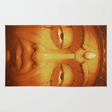 Buddha II Gold Rug