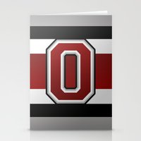 OSU Glove Stripe Stationery Cards