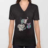 Whimsical Animals Unisex V-Neck