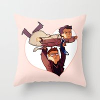LET ME BE YOUR WINGS Throw Pillow
