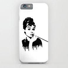 Audrey Hepburn Breakfast At Tiffany's iPhone 6 Slim Case