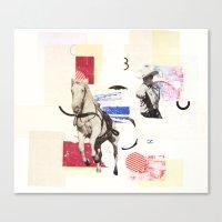 Horse Opera Canvas Print