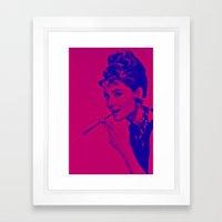 Pop glamour Framed Art Print