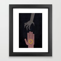 Lord Of The Rings Minima… Framed Art Print