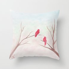 Can't take my eyes off you Throw Pillow