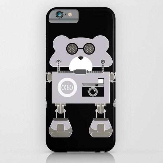 Robot Alpha 60 (Hommage à Jean-Luc Godard) iPhone & iPod Case
