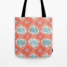 Nordic Heart Tote Bag