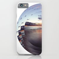iPhone & iPod Case featuring circular beach by lisk