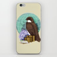 Little World Traveler iPhone & iPod Skin