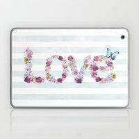 SPRING FLORAL LOVE Laptop & iPad Skin