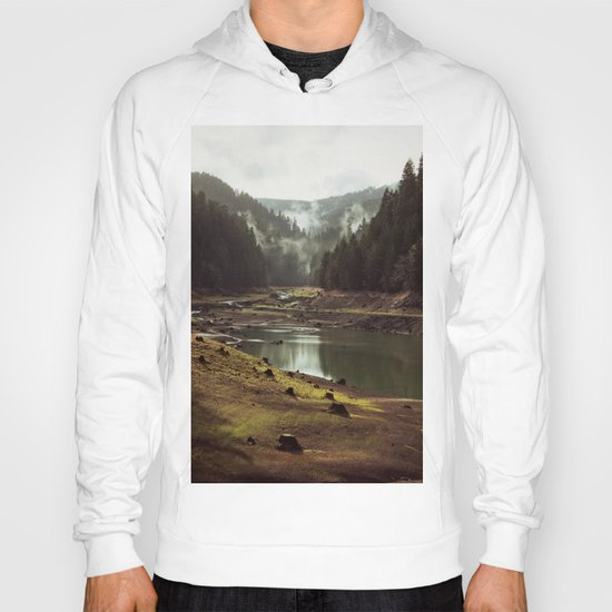Foggy Forest Creek Hoody