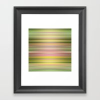 Lazy Daisy Framed Art Print