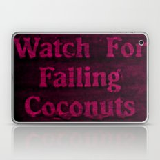 Falling coconuts Laptop & iPad Skin
