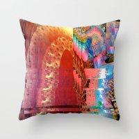 Creature Glitch #2 Throw Pillow