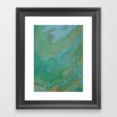 the rivers of the world Framed Art Print
