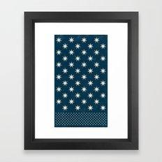 star dot Framed Art Print