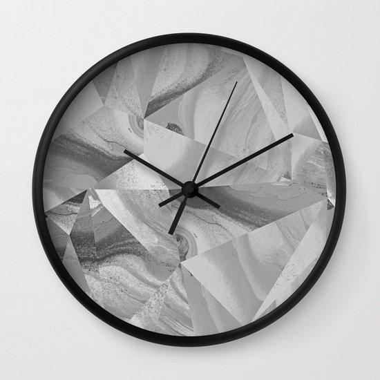 Irregular Marble II Wall Clock