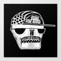 Italian Skull  Canvas Print