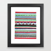 Pattern Doodle Three Framed Art Print