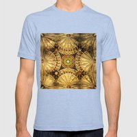 Kaleidoscope Mens Fitted Tee Tri-Blue SMALL