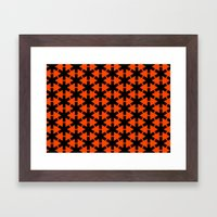 Meibloem Red  Framed Art Print