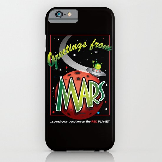 Greetings from Mars! iPhone & iPod Case