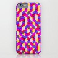 Myth Syzer - Neon (Patte… iPhone 6 Slim Case
