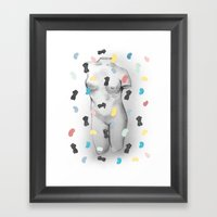 Lyssa. Framed Art Print