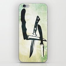 Knives iPhone & iPod Skin