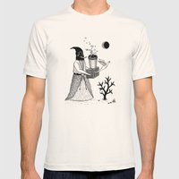 Harbinger Of Anxiety Mens Fitted Tee Natural SMALL