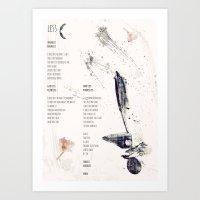 Less Art Print