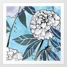 Flowers for you #2 Art Print