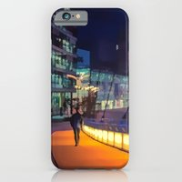 Night Time In Media City iPhone 6 Slim Case