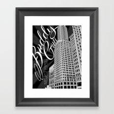 Buddy Guy Chicago Poster Framed Art Print