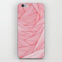 Red Feels iPhone & iPod Skin