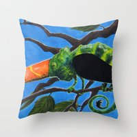 Tukameleon Throw Pillow