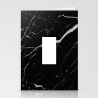 Black Marble - Alphabet … Stationery Cards