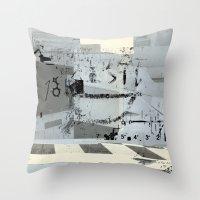 misprint 37 Throw Pillow