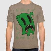 Ghosting Mens Fitted Tee Tri-Coffee SMALL