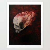 Art Print featuring Mortality  by Kit King & Oda