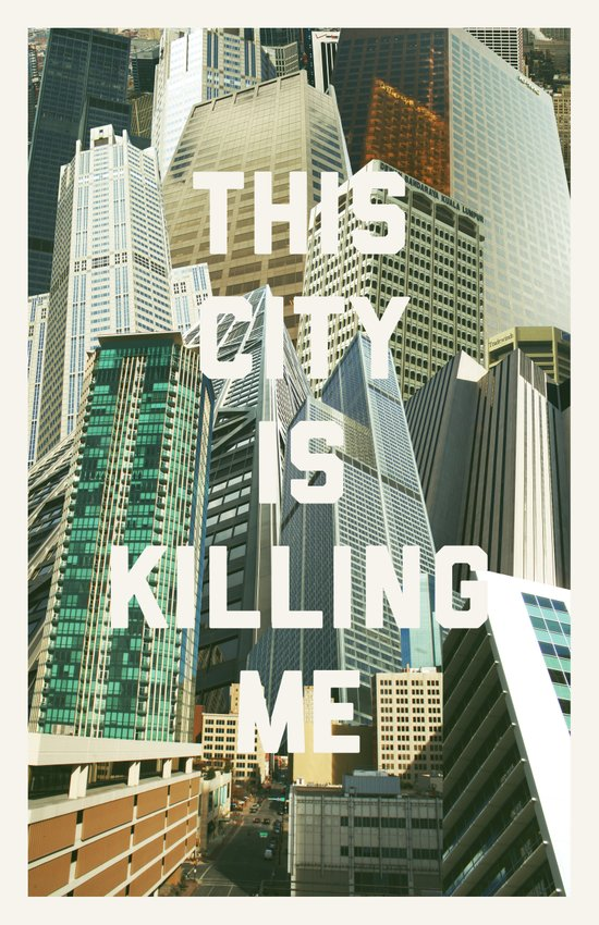 This City Is Killing Me Canvas Print