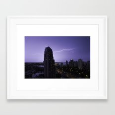 A Powerful Touch Framed Art Print