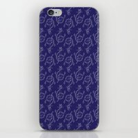 Anchor Pattern 1 iPhone & iPod Skin