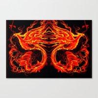 Phoenix Xis Canvas Print