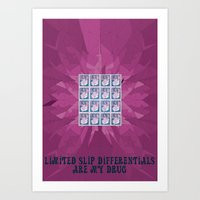 Limited Slip Differentia… Art Print